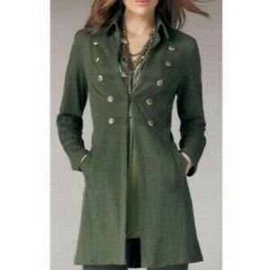 CAbi #587 Cavilleri Military Knit Jacket Green M